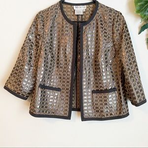 Worth open front jacket size 10